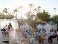 Beachclub aanzicht ceremonie