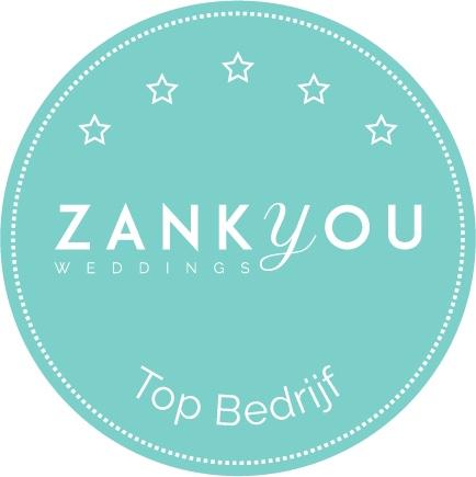 """Zankyou """"Thank you"""" voor de toffe vermelding van ons bedrijf"""